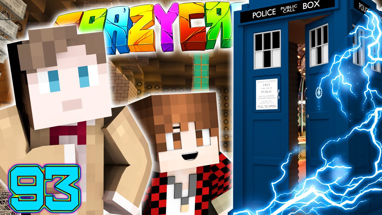 minecraft crazy craft mod minecraft craft 3 0 how to time travel doctor who 4958