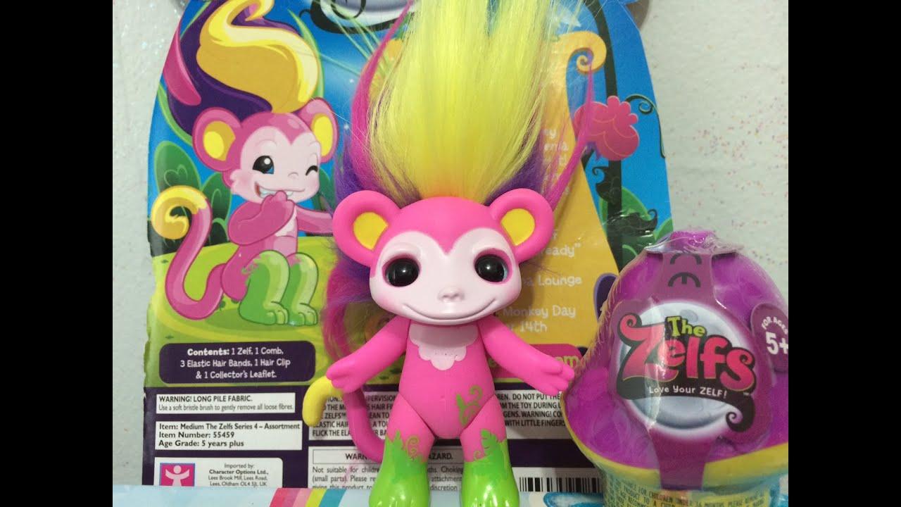 "Medium 3/"" Zelfs Zelf Troll Smoothie Monkey"
