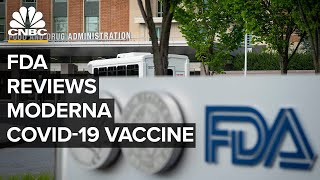 A food and drug administration panel is meeting thursday to vote on whether recommend the approval of moderna's coronavirus vaccine for emergency use.befo...