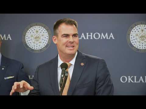 Gov. Stitt announces four executive orders