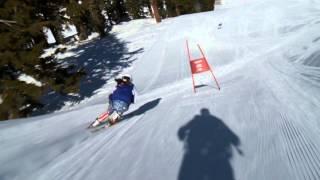 HD Followcam SG ski race training / camera & rig testing