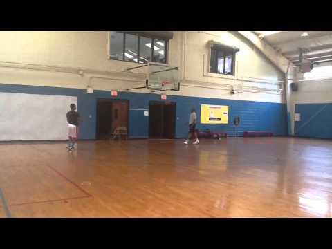 Me Training With Mike Glenn (shooting Coach)