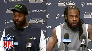 Michael Bennett & Richard Sherman React to Bennett's Las Vegas Incident | NFL