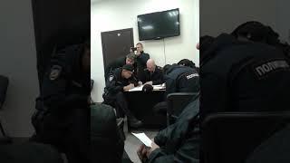 """Штатный провокатор полиции """"свидетель"""" Петрунько в ОВД Замоскворечье"""