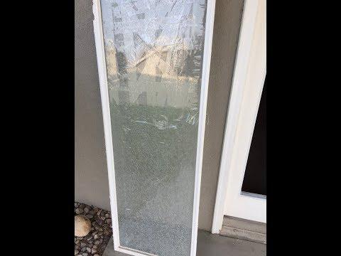 DIY French Door Glass Replacement