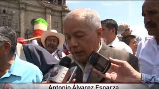 Pepenadores se manifiestan en Presidencia de Guadalajara