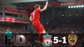 Liverpool Vs Hull City 5-1 All Goals & Full Highlights 2016