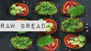 Сыроедческий хлеб 🍞 Мягкий, вкусный, полезный.