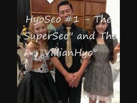 """HyoSeo #1 - The """"SuperSeo"""" And The """"VillianHyo"""""""