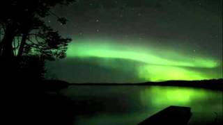 Northern Lights in Finland Time-lapse (HIM: In the Arms of Rain (SALEM REMIX))