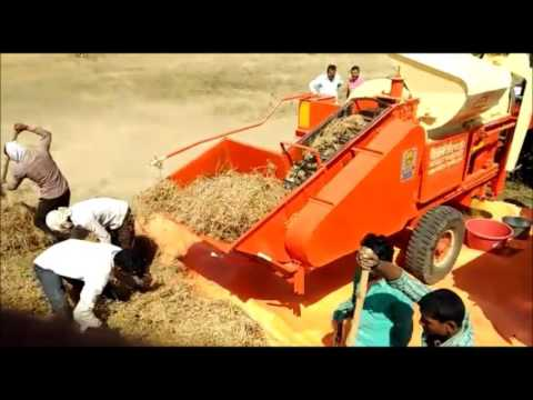 Mini Combine Thresher ( Threshing Machine ) Crop Thresher ( India )- +91-9460635977