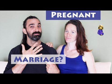Will we get married now that we are pregnant?