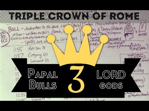 The Triple Crown of Rome | Papal Bulls | The LORD god