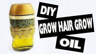 DIY  Grow Hair Grow Oil Recipe - Easy Crafts - simplekidscrafts - simplekidscrafts