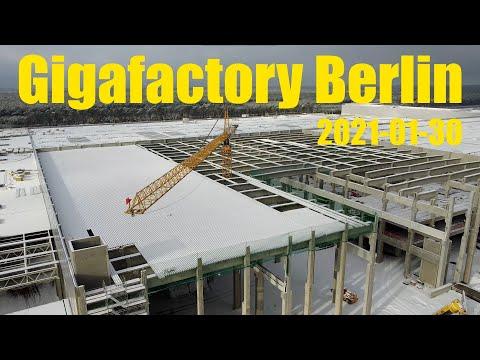 Giga Berlin | 2021-01-30 | Casting roof