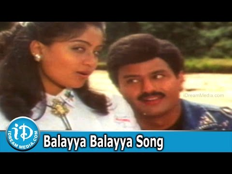 Balayya Balayya Song - Lorry Driver Movie Songs - Balakrishna - Vijayashanti
