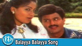 Balayya Balayya Song - Lorry Driver Movie Songs - Balakrishna - Vijayashanti