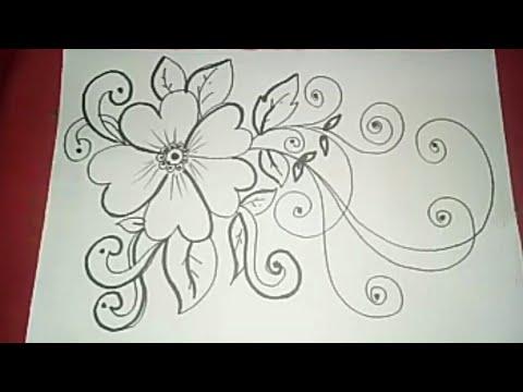 Gambar Batik Bunga Ornamen 5 Youtube
