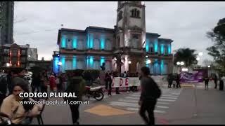 Marcha de antorchas por el esclarecimiento del secuestro y tortura de Corina Del Bonis