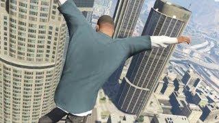 GTA V — Бесплатный парашют! PC (1080p)