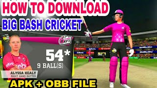 How to Download Big Bash Cricket | APK+OBB