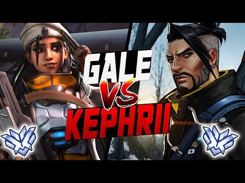 GALE PRO ANA VS KEPHRII AS HANZO! [ OVERWATCH SEASON 9 TOP 500 ] thumbnail