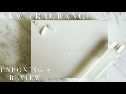 Kim Kardashian Wests new perfume: KKW FRAGRANCE Unboxing + Review