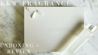 connectYoutube - Kim Kardashian West's new perfume: KKW FRAGRANCE Unboxing + Review