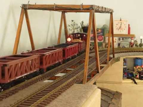 "Hartland Locomotive Works ""General"" short clip"