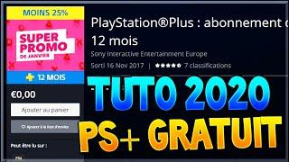 TUTO FR - AVOIR LE PS+ GRATUIT SUR PS4 EN 2020 Playstation Plus gratuit / Free PS+ 2020