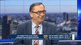 prof. KAZIMIERZ KIK - PRAWDA O REFORMIE SZKOLNICTWA WYŻSZEGO MINISTRA GOWINA