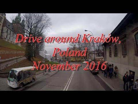 A drive around Kraków, Poland.