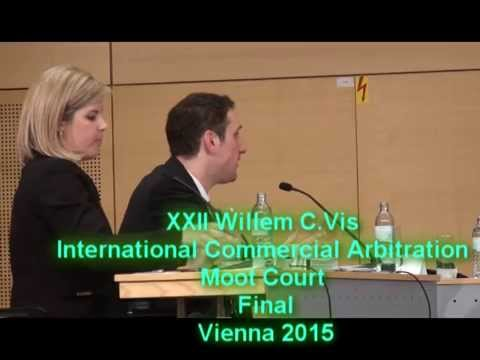 XXII Willem C. Vis Moot Final (Full version) 2015 Vienna