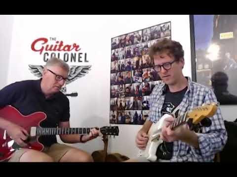 Season 1 Episode 11 - OZ v NZ underarm classic rock. Gibson ES335 Studio, LSL Stratocaster.