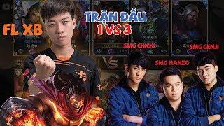 XB Cầm Tướng Tủ RAZ 1 vs 3 Hanzo,Chichi,Genji - Kết Quả Bất Ngờ l XB Channel