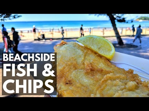 Manly Sydney Australia Fish And Chips On The Beach | Vlog 39 | Lin Nyunt