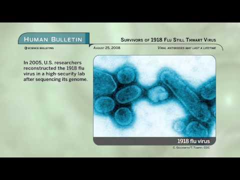Science Bulletins: Survivors of 1918 Flu Still Thwart Virus