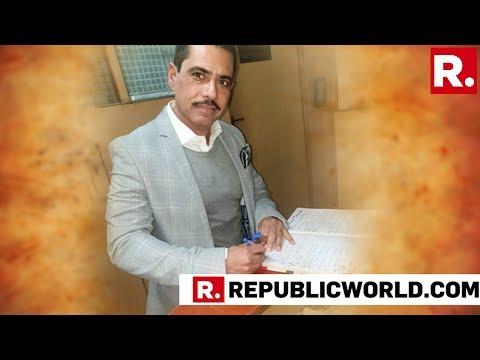 Robert Vadra Speaks With Kapil Sibal, Abhishek Manu Singhvi At His Residence Ahead Of ED Questioning