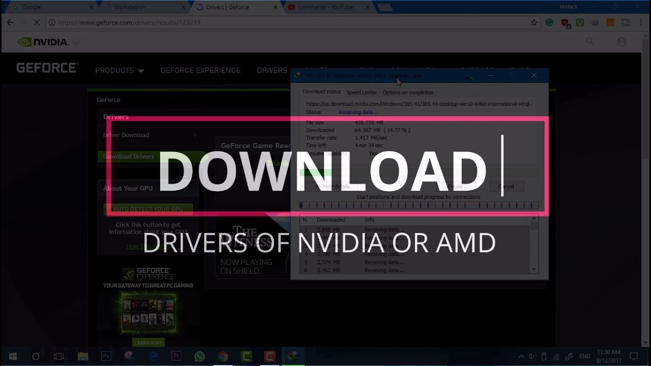 How to Download Nvidia Drivers Officially! GTX/GT(1080,1060,1050,710)