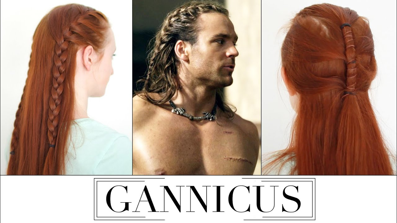 Gannicus Hair Tutorial From Spartacus Gods Of The Arena