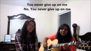 Never Give Up On Me - Josh Bates (with lyrics)