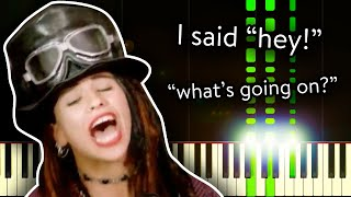 4 Non Blondes What 39 s Up - Piano Tutorial.mp3