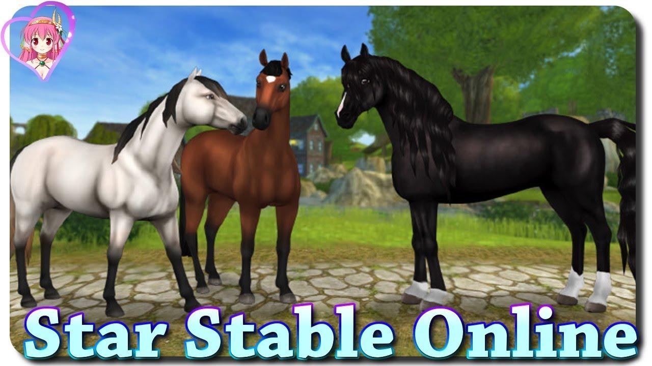 drei neue pferde star stable online 29 news aus. Black Bedroom Furniture Sets. Home Design Ideas
