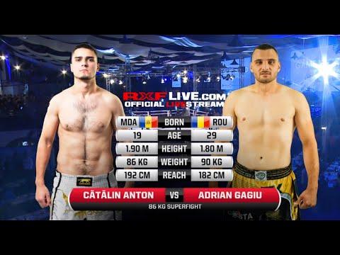 RXF Kickboxing : Catalin Anton Vs Andrian Gagiu