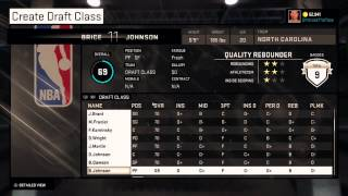 FULL 2015 Draft Class Available Now! Most Realistic NBA 2K15 Draft Class!