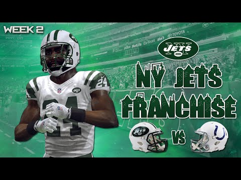 Madden 16: Jets Franchise at Colts (W2. S1) - REVIS ISLAND!