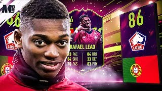 FIFA 19 FUTURE STAR LEAO REVIEW | 86 FUTURE STAR LEAO PLAYER REVIEW | FIFA 19 ULTIMATE TEAM