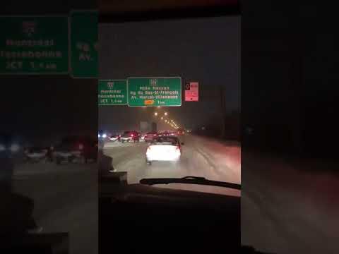 Ambulance vs Hyundai Accent J31 HLB in Laval, QC