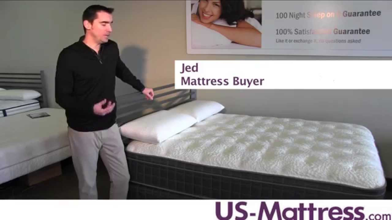 Sleep Inc By Corsicana 125 Euro Top Plush Mattress Youtube