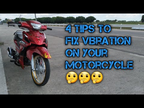 How to fix vibration on your motorcycle | SUZUKI SMASH 115